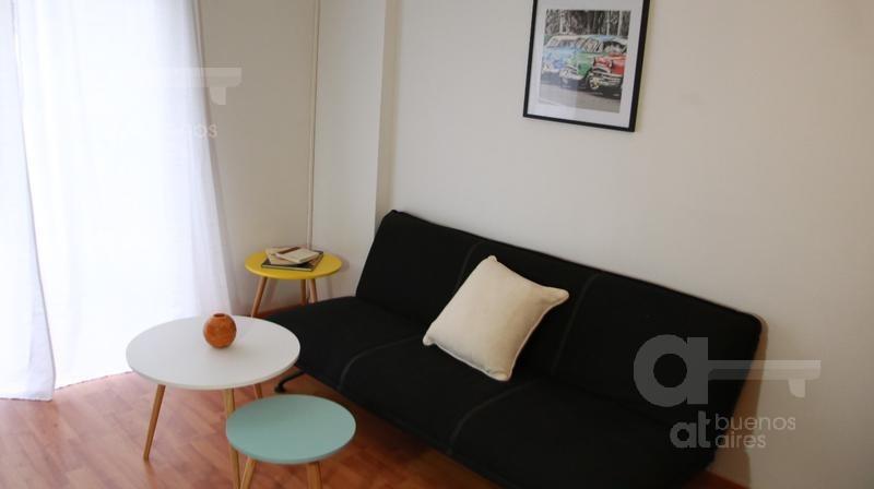 palermo unidad de 2 ambientes con balcón en alquiler temporario