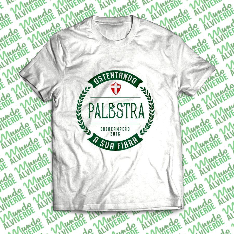 Palestra Enea - Baby Look - Mundo Alviverde - R  48 1ec1cadf7352a