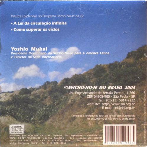 palestra seicho-no-ie na tv cd yoshio mukai vícios