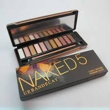 paleta 12 sombras naked 5 + 2 labiales + envio gratis