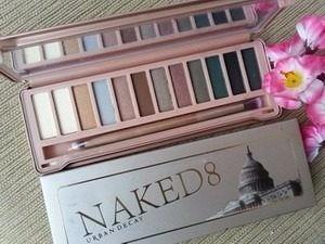 paleta 12 sombras naked 8 + 2 labiales + envio gratis