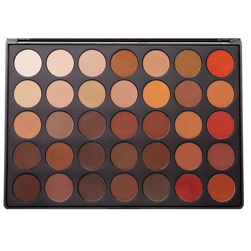 paleta 350m 35 color matte nature eyeshadow - morphe