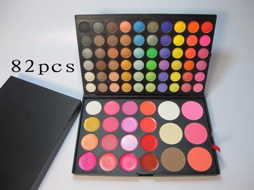 paleta 60 sombras + labiales + rubores + perfiladores * mac
