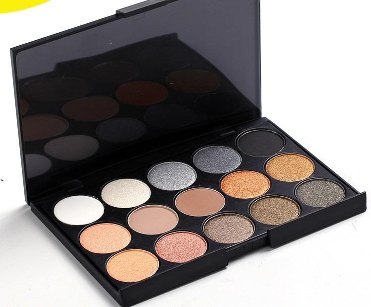 Paleta de 15 sombras mac colores neutros en - Paleta de colores neutros ...
