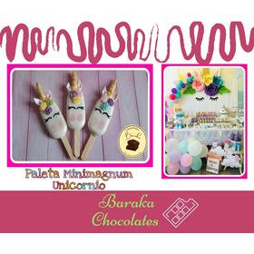 Paleta De Chocolate Minimagnum Unicornio