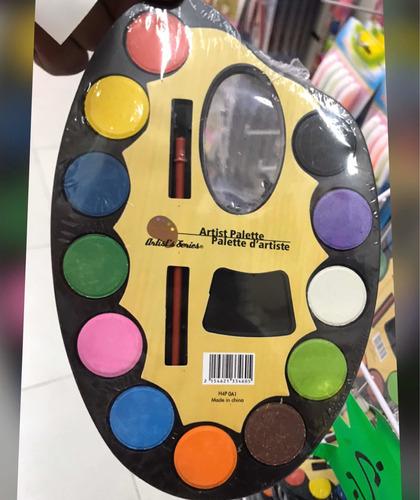 paleta de colores importada