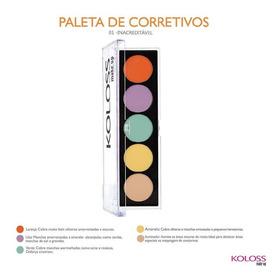 Paleta De Corretivos Camuflagem 01 Koloss - Inacreditável