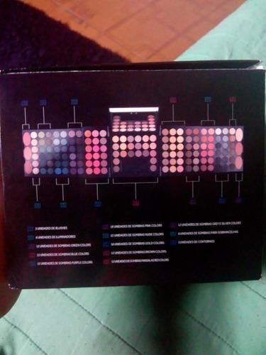 paleta de maquiagem da oboticário make b 140+ colors