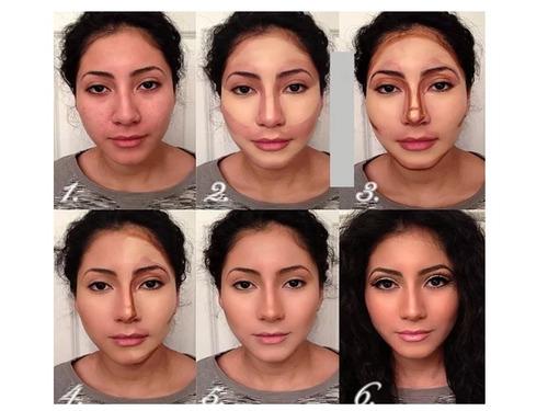 paleta de maquillaje 15 tonos profesional x 6 por mayor
