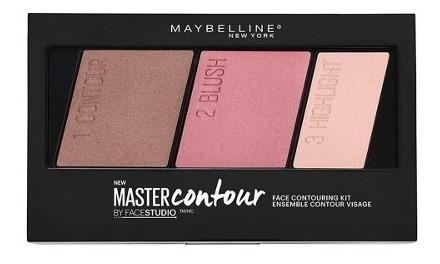 paleta de maquillaje master contour palette maybelline