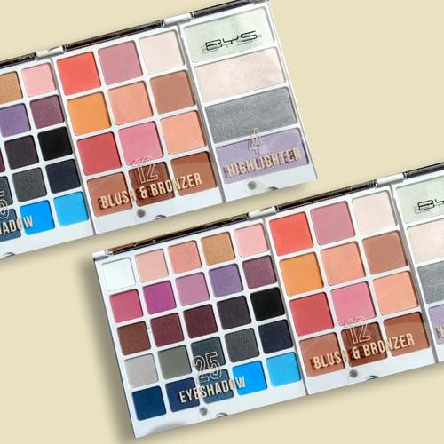 paleta de maquillaje profesional - pro makeup palette unicor
