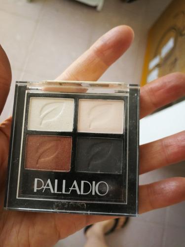 paleta de maquillaje sombras marca paladio