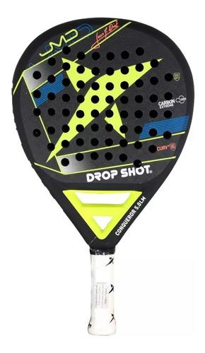 paleta de padel drop shot conqueror 5.0 l e funda