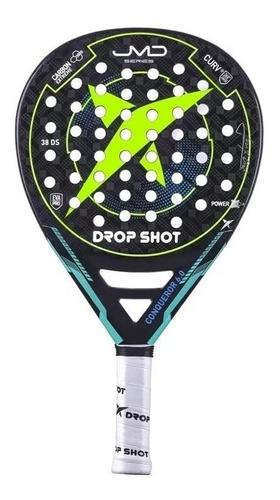 paleta de padel drop shot conqueror 6.0 jm diaz - olivos