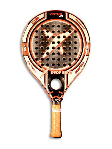 paleta de padel drop shot virtus junior