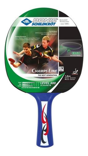 paleta de ping pong donic champs 400 ittf - olivos