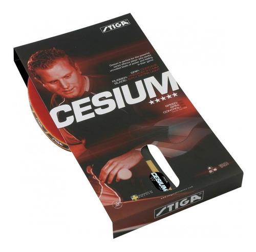 paleta de ping pong stiga cesium profesional olivos