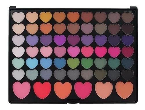 paleta de sombra e blush