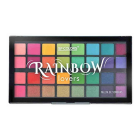 Paleta De Sombras 32 Cores Sp Colors Rainbow Lovers Sp186
