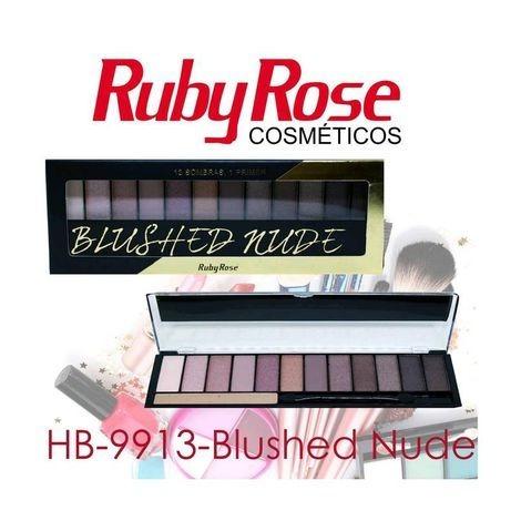 Paleta de Sombra The Rock Nudes Ruby Rose HB-9914 - Ruby