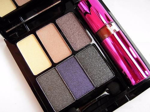 paleta de sombras con labial de makeup revolution