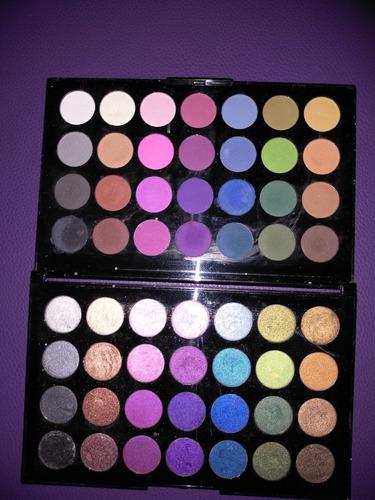 paleta de sombras dolce bella 56 colores