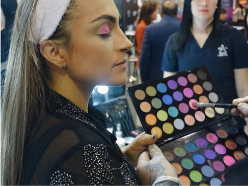 paleta de sombras dolce bella 56 colores mates y nacarados