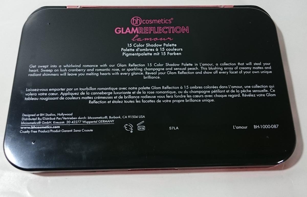 Paleta De Sombras Glam Reflection Bh Cosmetics Original
