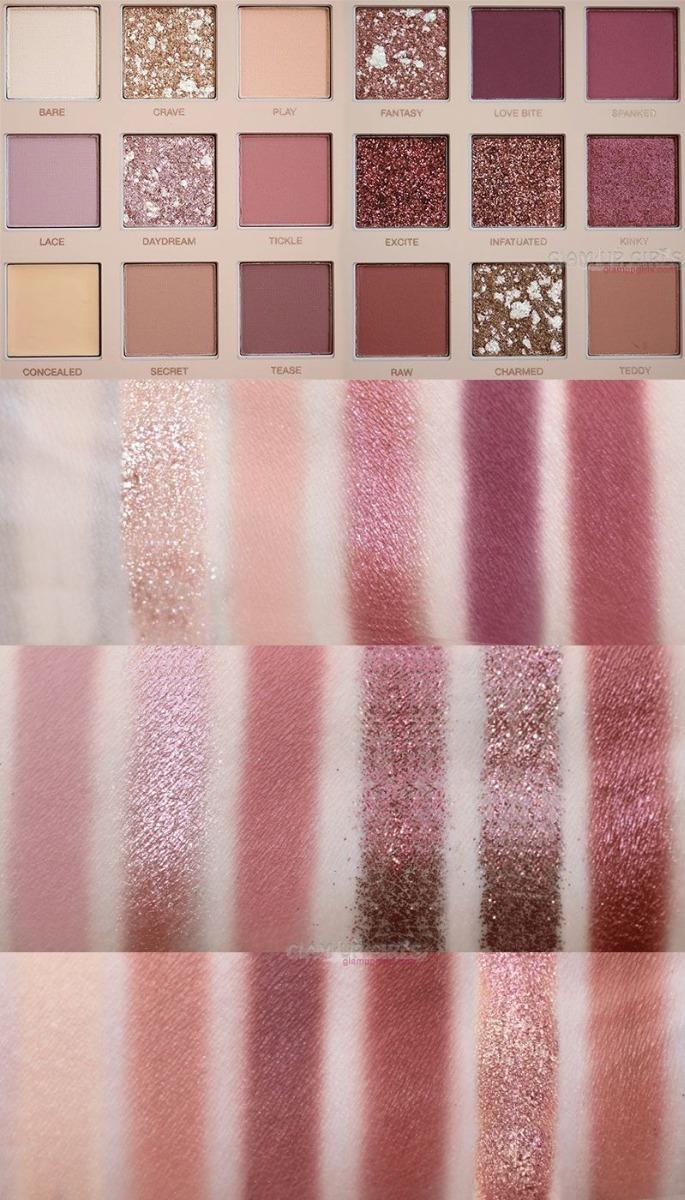 Paleta De Sombras Huda Beauty New Nude Eyeshadow Palette - R$ 57,75 em  Mercado Livre