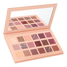 Paleta De Sombras Huda Nude 18 Colores - g a $1222