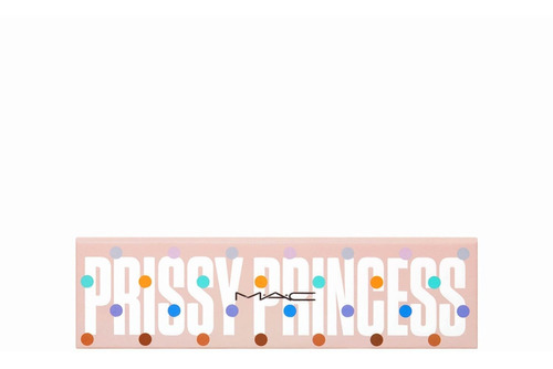 paleta de sombras + iluminador mac girls / prissy princess