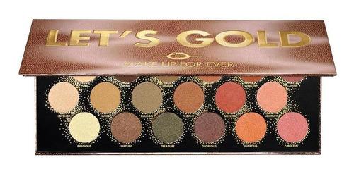 paleta de sombras - let's gold - original
