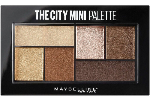 paleta de sombras maybelline the city mini rooftop bronzes