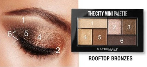 paleta de sombras maybelline the city mini rooftop bronzes