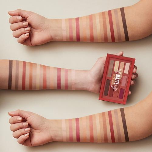 paleta de sombras maybelline the matte bar eyeshadow palette