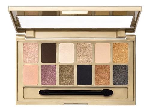 paleta de sombras para ojos gold nudes maybelline