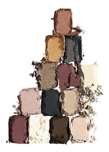 paleta de sombras para ojos the 24 karats nudes maybelline