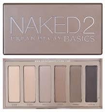 paleta de sombras urban decay naked basics - pronta entrega