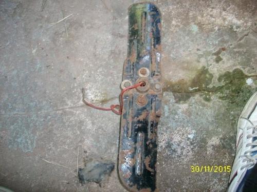 paleta de ventilador con polea original chevrolet 1928 antig