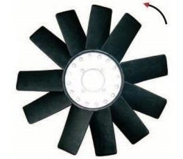 paleta de ventilador ranger 3.0 tdi 2005 en adelante