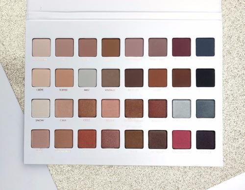 paleta lorac pro 32 colores (5 piezas)