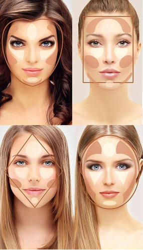 paleta maquillaje 15 tonos corrector contorno imperfecciones