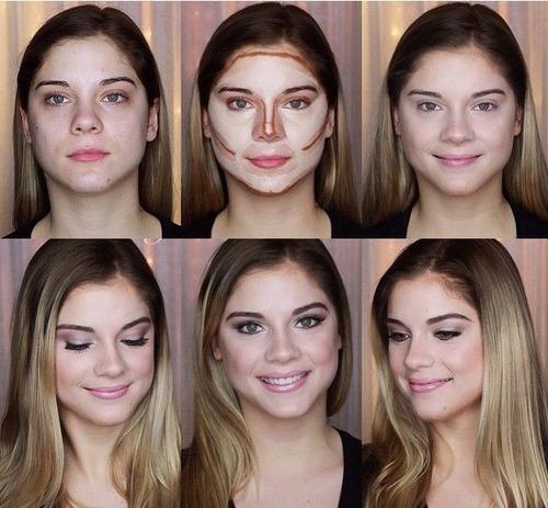 paleta maquillaje 15 tonos + regalo corrector contorno nueva