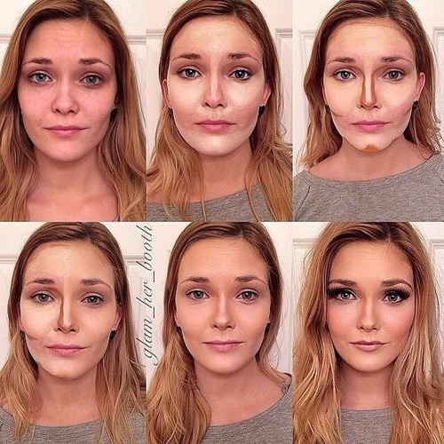 paleta maquillaje 5 tonos  x 6   por mayor contorno corrige