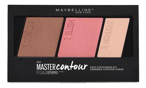 paleta master contour blush rostro maybelline