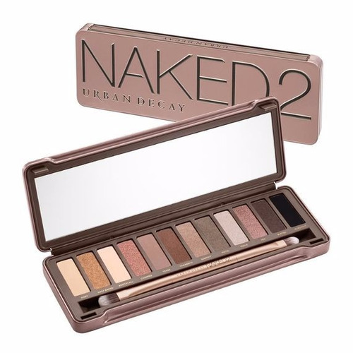 paleta naked 2 e naked 3 original em 12x sem juros e fgrátis