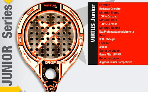 paleta padel drop shot