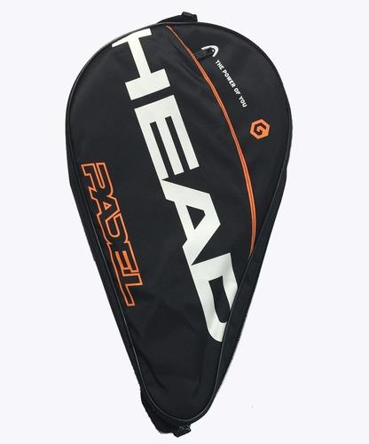 paleta padel head evolution bela importada + funda paddle
