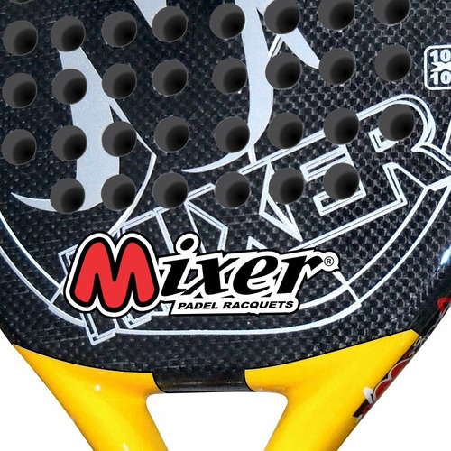 paleta padel mixer onix - línea 100% carbono - envío gratis
