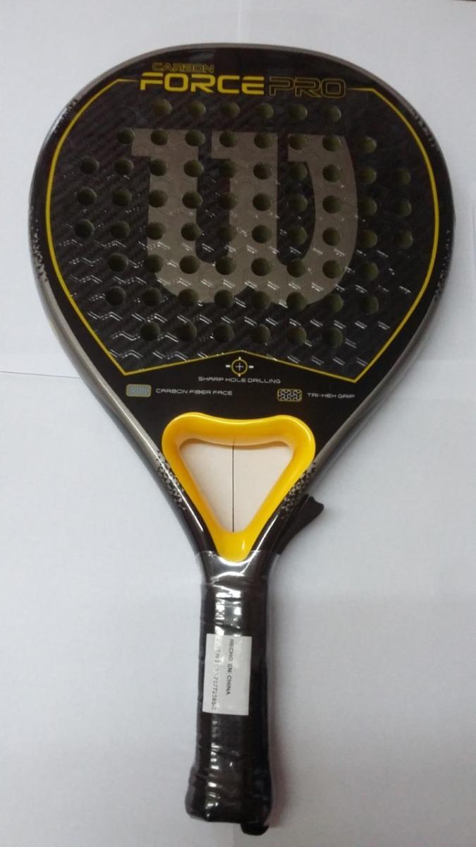 94ec3e73 Paleta Padel Wilson Carbon Force Pro Envios Gratis - $ 11.950,00 en ...